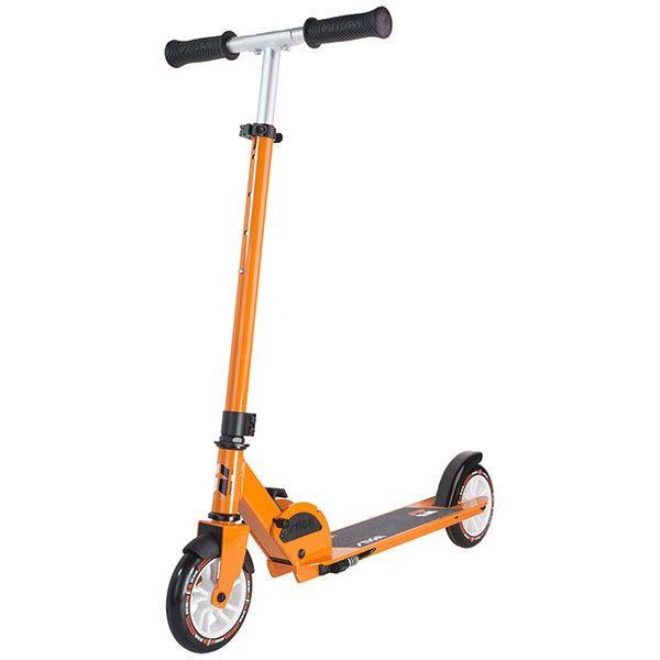 тротинетка stiga cruise 145-s оранжева сгъваема детска тротинетка с 2 колела
