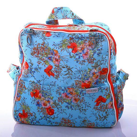 чанта раница за количка, чанта раница за памперси, чанти Gittabags 102 Printed