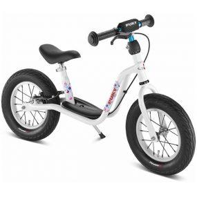 велосипед за баланс PUKY LR XL бял колело без педали за 3 годишно дете