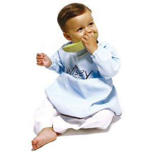 бебешки лигавник с ръкави, голям лигавник за бебе