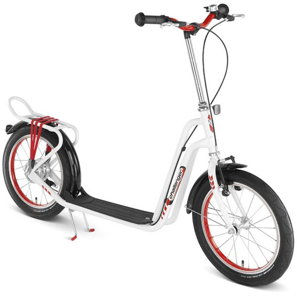 тротинетка PUKY R 2002 L за дете над 8 години, детски тротинетки с големи колела