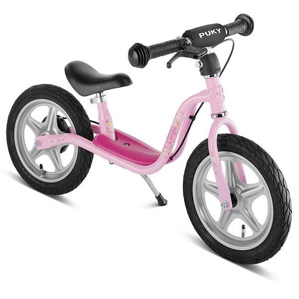 Велосипед за баланс PUKY LR 1L Br Princess Lillifee розово колело без педали за момиче