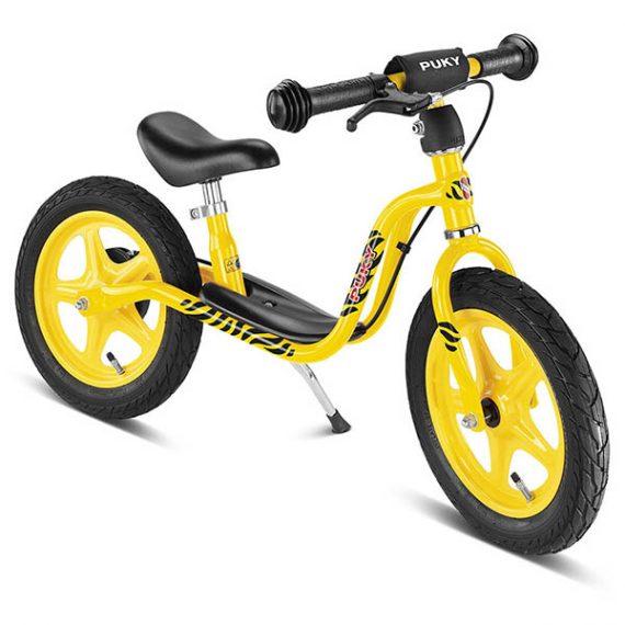 велосипед за баланс puky lr 1l br жълт колело без педали