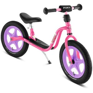 велосипед за баланс puky lr 1l розов колело без педали за момиче на 3 години