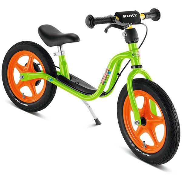 велосипед за баланс puky lr 1l br киви зелено колело без педали със спирачка