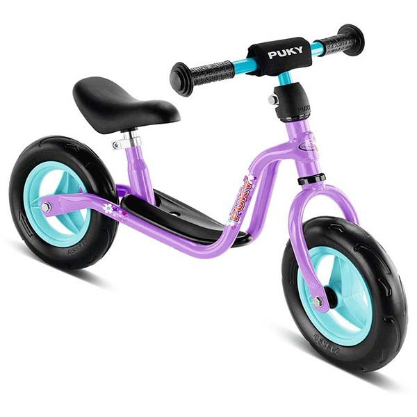 велосипед за баланс puky lr m - люляк колело без педали за момиче баланс байк лилав