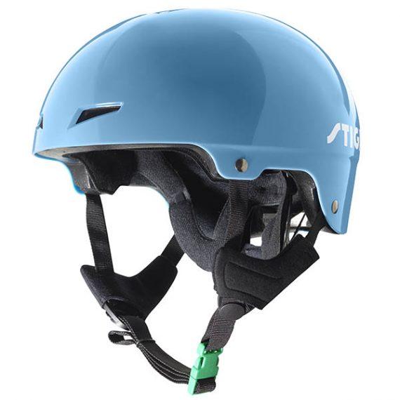 предпазна каска play синя каска за ролери скейтборд скутери и тротинетки за фрийстайл каска за зимни спортове