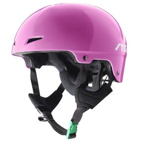 предпазна каска play розова каска за ролери скейтборд скутери и тротинетки за фрийстайл каска за зимни спортове