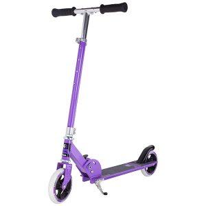 тротинетка stiga curver 145-s лилава сгъваема детска тротинетка с 2 колела