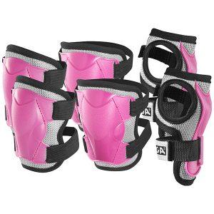 протектори comfort junior - розови протектори за китки колена и лакти