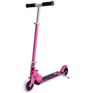 тротинетка stiga charger 120-s розова сгъваема детска тротинетка с 2 колела
