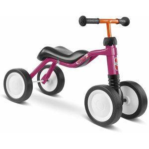 велосипед с 4 колела PUKY Wutsch - малина детско бебешко колело с четири колела за дете на 1,5 година