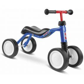 PUKY Wutsch син велосипед с 4 колела детско бебешко колело с четири колела за дете на 1,5 година
