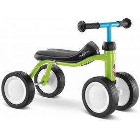 велосипед с 4 колела pukylino - киви детско бебешко колело с четири колела за дете на 1 година