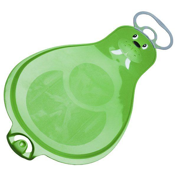 слайдер морж мама зелен