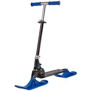 снежен скутер snow kick черно и синьо