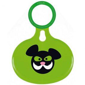 слайдер приятели зелен пластмасова шейна