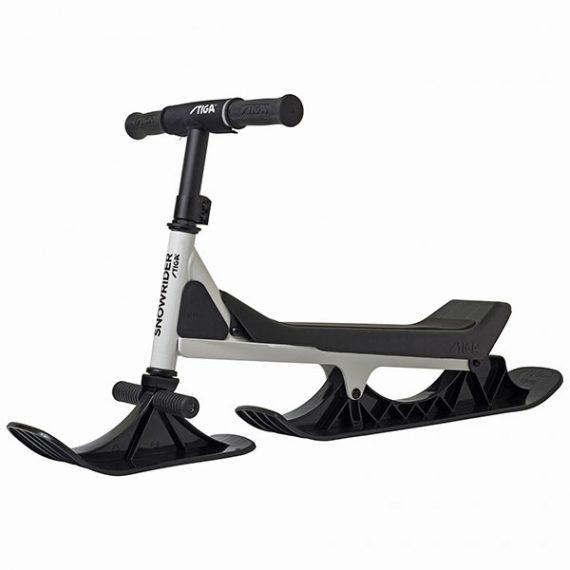снежен скутер snowrider бяло-черно