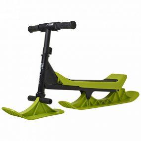 снежен скутер snowrider черно-зелено