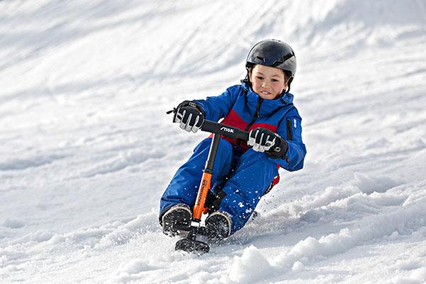 снежен скутер snowrider