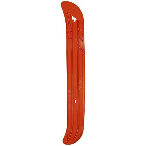 дясна ска за шейна с кормило SNOWRACER Curve оранжева
