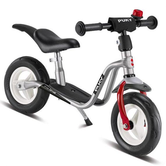 велосипед за баланс puky lr m plus сребърно колело без педали колело за балансиране
