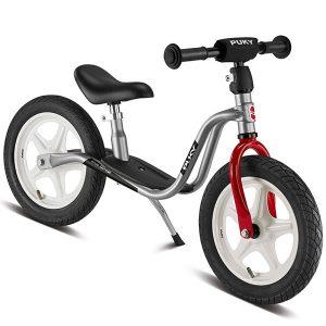 велосипед за баланс PUKY LR 1L сребро колело без педали баланс байк