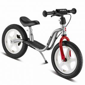 велосипед за баланс puky lr 1l br сребро детско колело без педали за балансиране баланс байк със спирачка