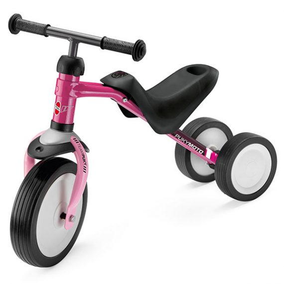 велосипед с 3 колела PUKYMOTO малина