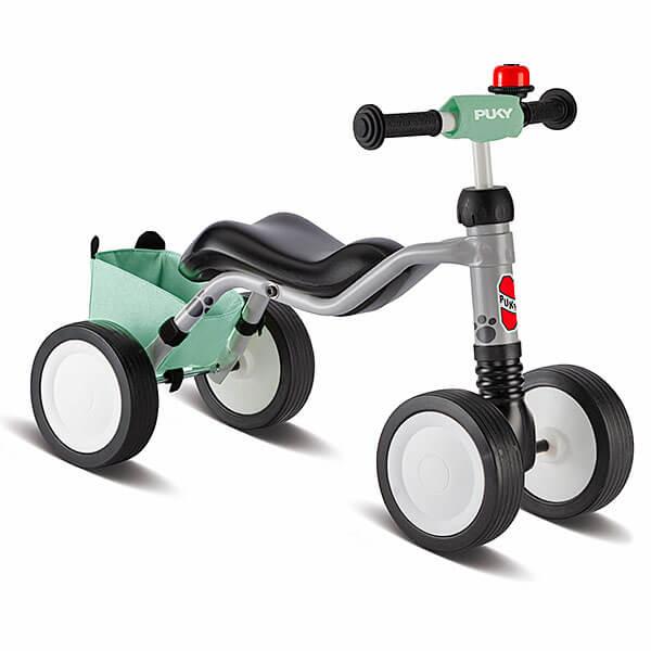 Велосипед с 4 колела PUKY Wutsch Комбо - сив