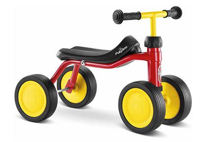 PUKYlino red велосипед за дете на 1 година